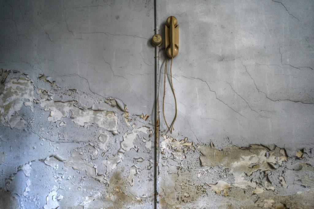 Fine art photographie mur téléphone minimalism Nicolas Pluquet