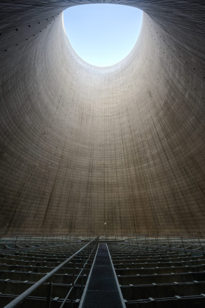Fine art photographie cooling tower Nicolas Pluquet