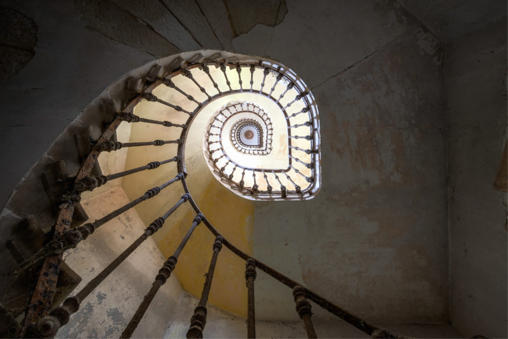 Fine art photographie escalier Nicolas Pluquet
