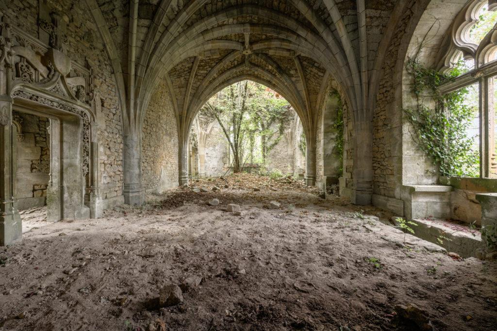 Fine art photographie chapelle arbre Nicolas Pluquet