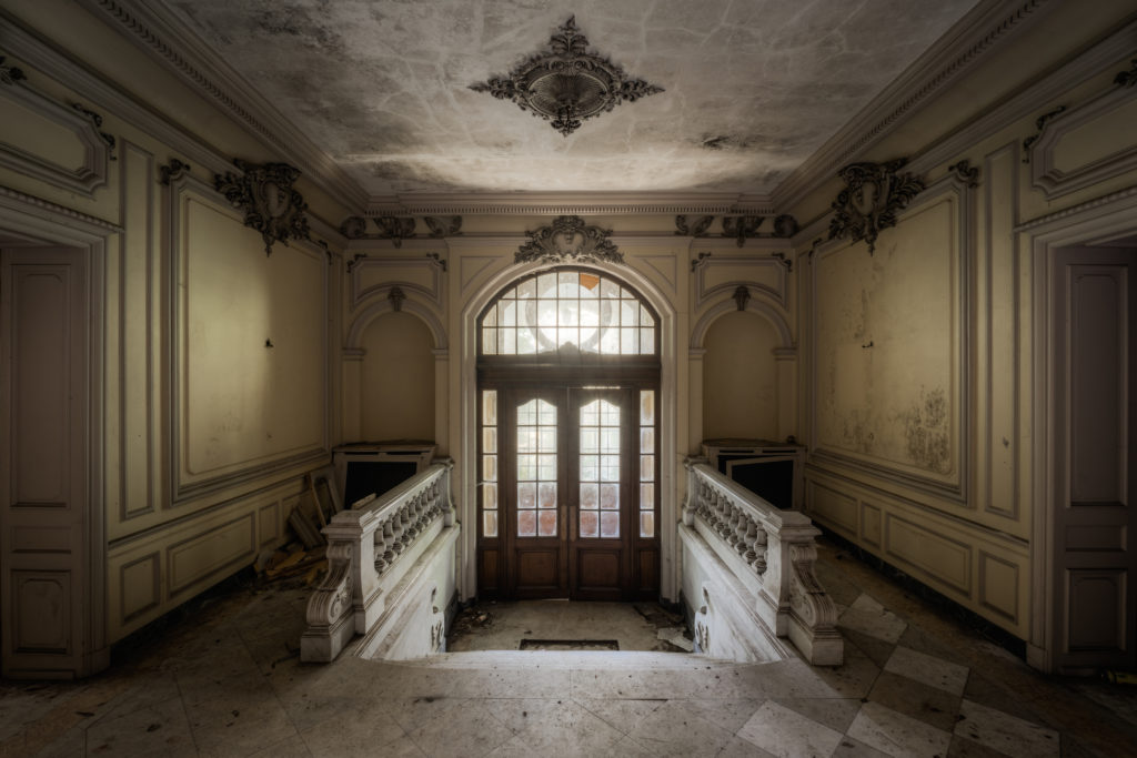 Fine art photographie manoir hall Nicolas Pluquet