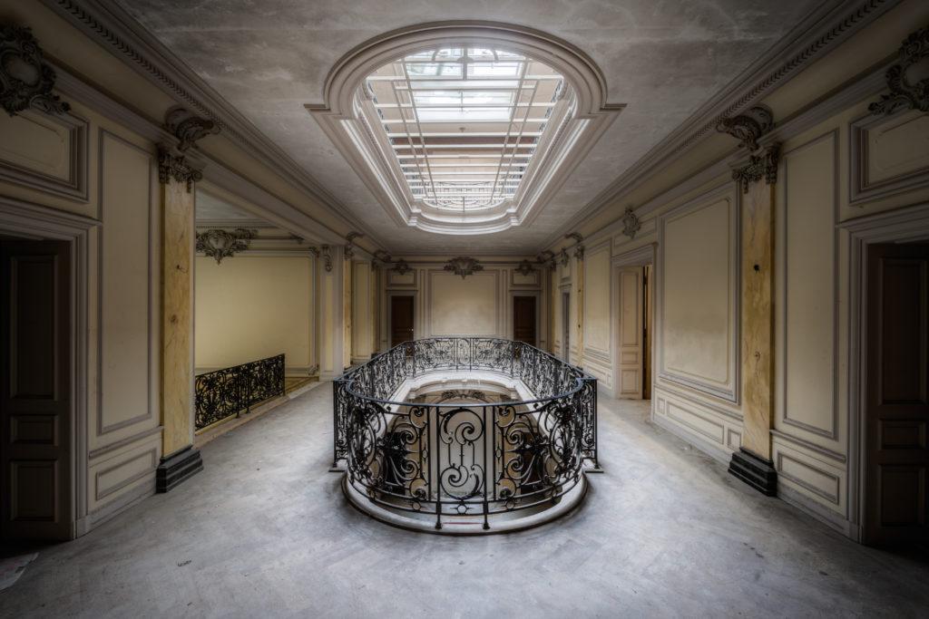 Fine art photographie manoir verrière Nicolas Pluquet