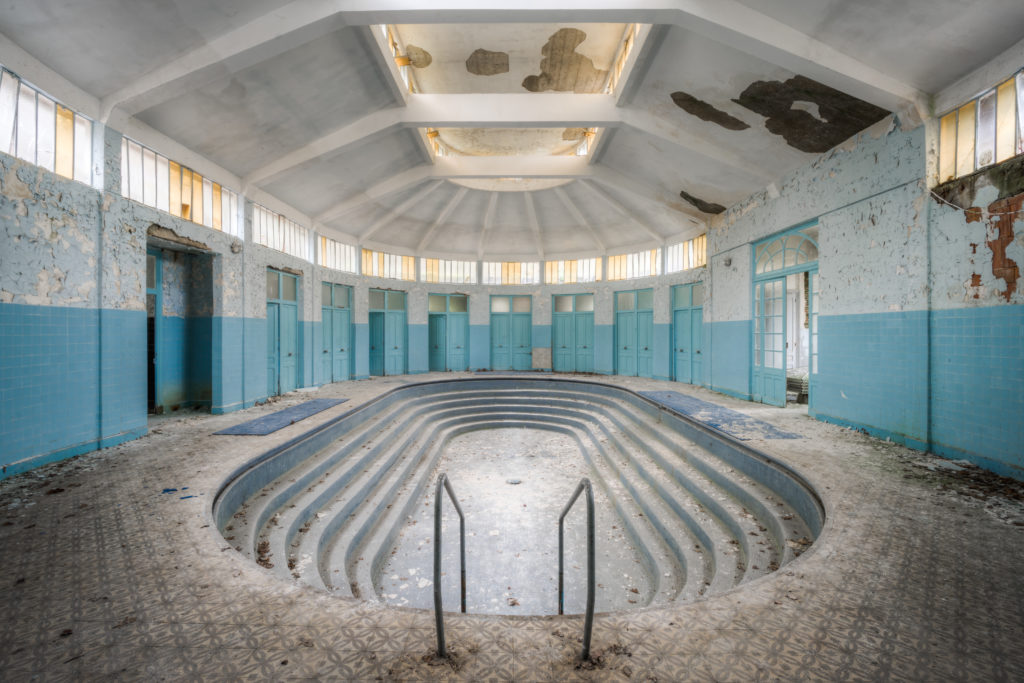 Fine art photographie thermes Nicolas Pluquet