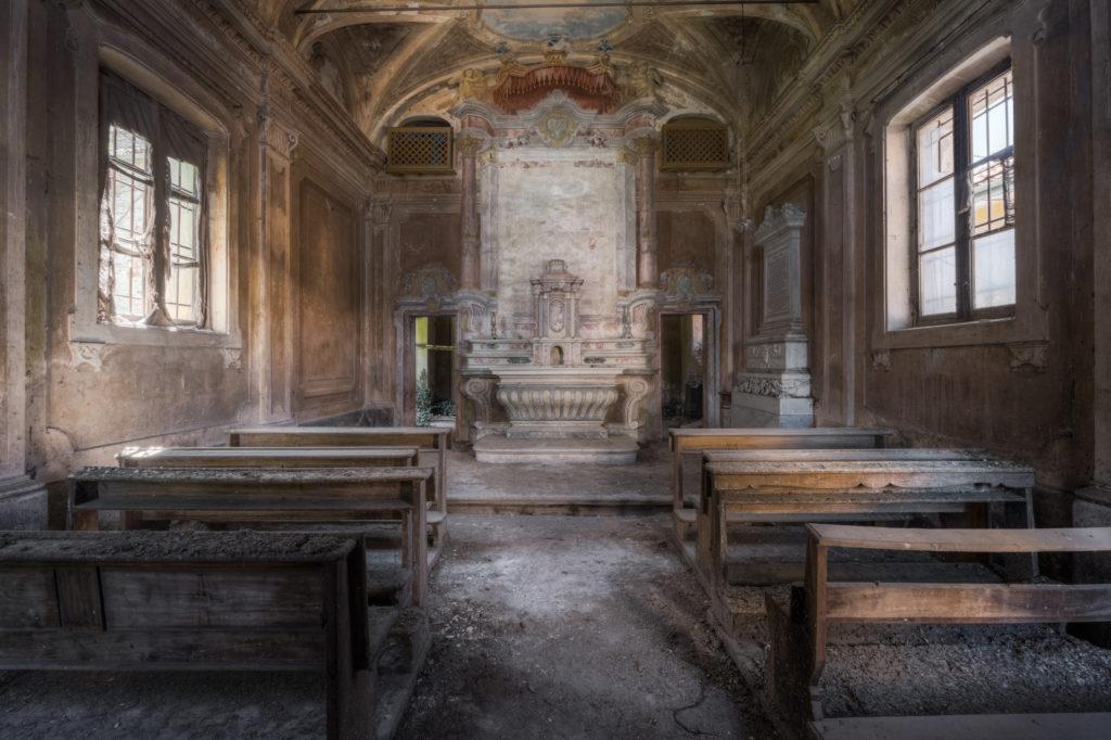 Fine art photographie chapelle Nicolas Pluquet