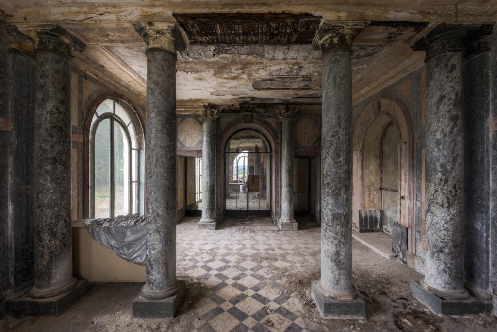 Fine art photographie château piliers Nicolas Pluquet