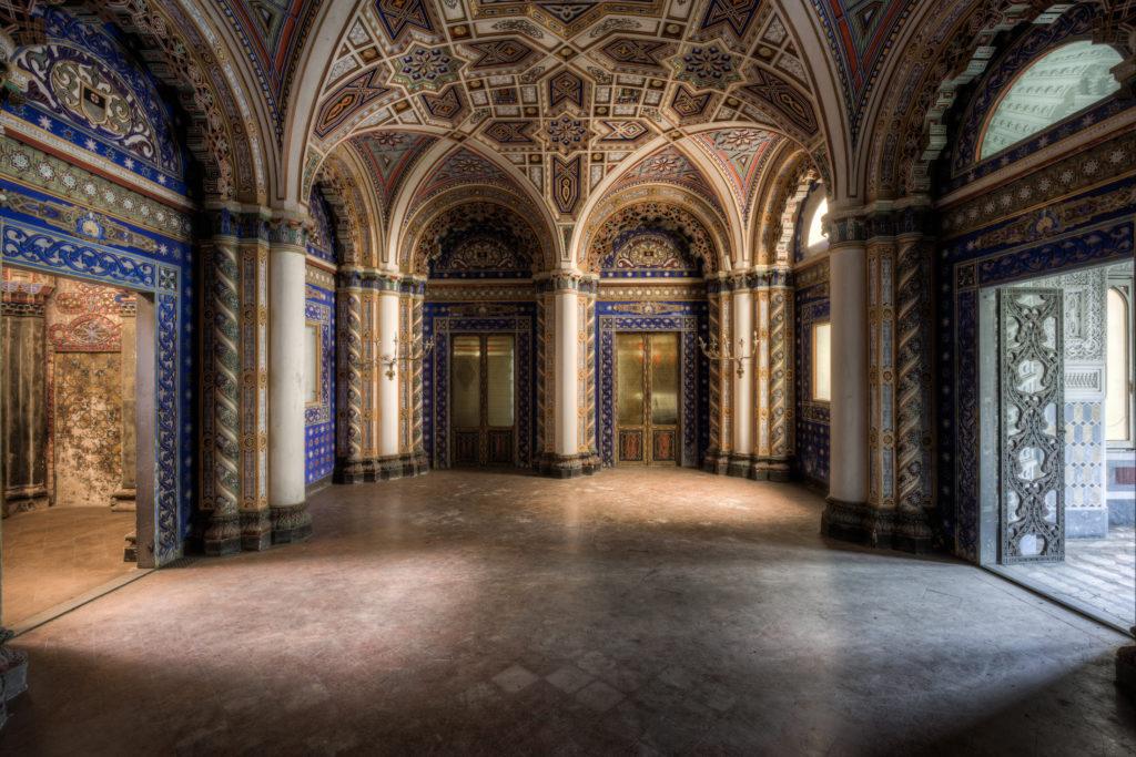 Fine art photographie palais Nicolas Pluquet