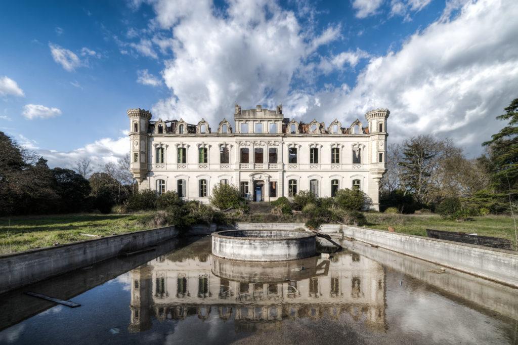 Fine art photographie château Nicolas Pluquet