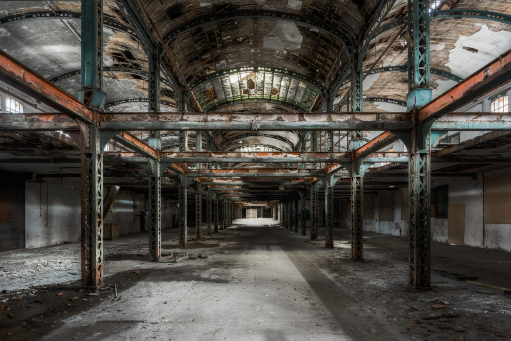Fine art photographie usine Nicolas Pluquet
