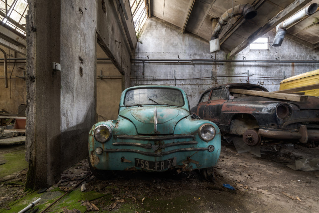 Fine art photographie voiture Nicolas Pluquet