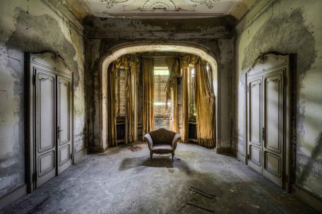 Fine art photographie trône Nicolas Pluquet