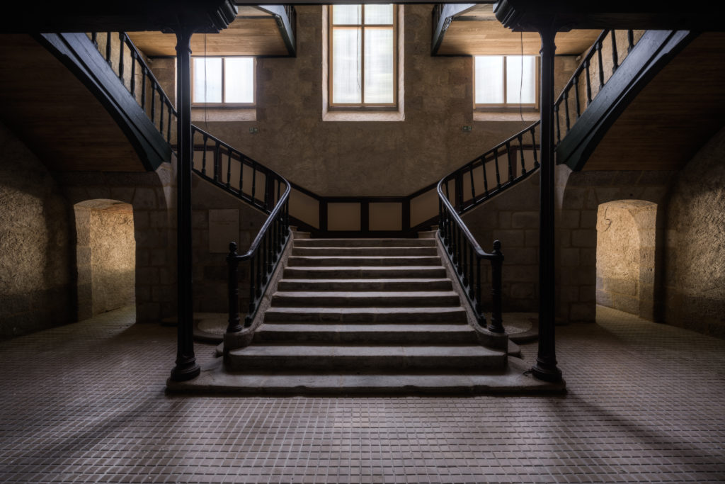 Nicolas Pluquet fine art photographie Past majesty architecture patrimoine